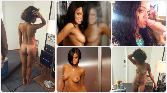 Rihanna in nude web pics scandal
